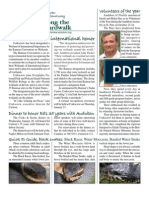 November 2009 Along the Boardwalk Newsletter Corkscrew Swamp Sanctuary