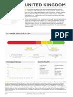 United Kingdom Economic Freedom Report