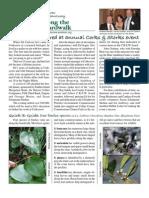 February 2010 Along the Boardwalk Newsletter Corkscrew Swamp Sanctuary
