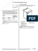 30 (76.2 Cm) Freestanding Electric Range