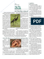 March 2010 Along the Boardwalk Newsletter Corkscrew Swamp Sanctuary
