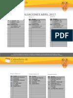 Agenda Abril 2017