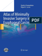 Atlas of Minimally Invasive Surgery in Esophageal Carcinoma ( Puntambekar )