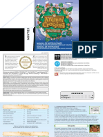 Manual NintendoDS AnimalCrossingWildWorld ES