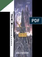 Manual NintendoDS FireEmblemShadowDragon ES