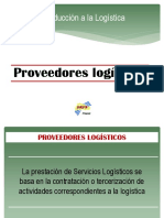 LOGISTICA PROVEEDORES