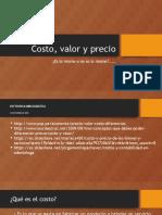 PRECIO, COSTO Y VALOR.pptx