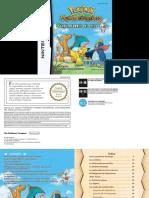 Manual NintendoDS PokemonMysteryDungeonExplorersOfSky ES