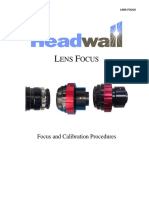 Lens Focusing Procedures