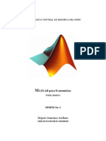 Matlab para Economistas - Sesión No.1