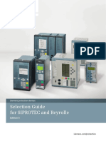 Selection Guide Protection Relays