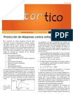 2014 OCT - Proteccion Maquinas Contra Voltajes Transitorios