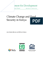Climate Change and Food Security in Kenya