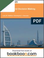 Budgeting and Decision Making Exercises I