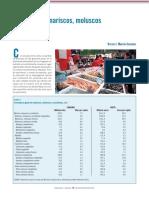 Comsumo de Marisco,Moluscos y Crustaceos