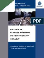 PDF Con datos de los Centros conacyt (no viene investigadores) Pero hay otros indicadores..pdf