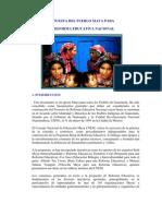 Base Legal de La Reforma Educativa Intercultural y Multilingue