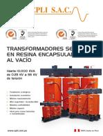 Transformador Seco Resina Epi Peru