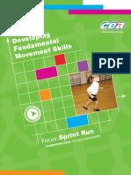 Developing Fundamental Movement Skills - Focus Sprint Run - Foundation Stage (crianças).pdf