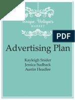 advertising plan  1