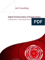 Digital Transformation of Supply Chains
