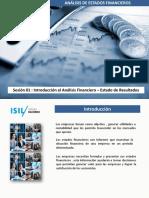 Introducción Al Análisis Financiero, Estado de Resultados