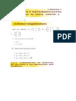 Actividades Unidad 2 Algebra en Linea
