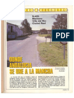 Revista Tráfico - nº 55 - Mayo de 1990. Reportaje Kilómetro y kilómetro
