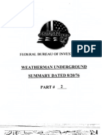 FBI FOIA Weatherman Part II (declassified)