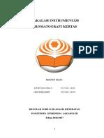 FIX Makalah Kromatografi kertas (1).docx
