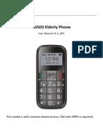 Manual Movil Gs503