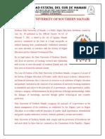 State University of Southern Manabi1 Repartido