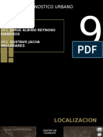 Diseño Urbano III - Diagnóstico Huanuco