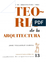 Libro Teoria de La Arquitectura Jose Villagran Garcia