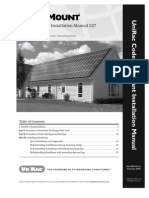 Legal Solar Unirac Manual Solarmount Flat Roof Calculations Installation_manual