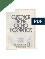 Aviso Publicitario Revista Mundo Licorista 1986