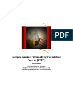 Proposal for Comprehensive Filmmaking Foundation Course (CFFC)