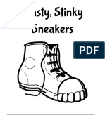 nasty stinky sneakers packet