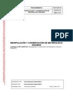 PRA-CNSP-014 Ed02 Manipulación y Conservación de Materiales e Insumos (1)
