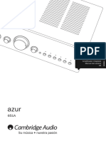 Azur 651A User Manual Spanish