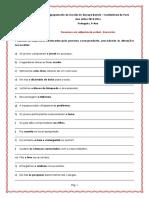Pronomes Em Adjacencia Verbal - Exerc.15-16