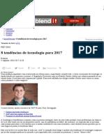 8 Tendências de Tecnologia Para 2017 _ Notícias _ Baguete