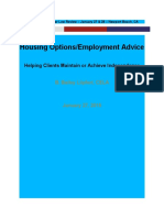 Housing and Employment Counseling for Seniors