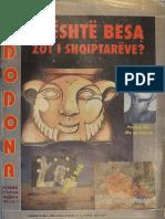 19940601 - DODONA 01- nr 01 - revistë kulturore 1994
