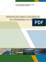 Destinacao Do Patrimonio Da Uniao