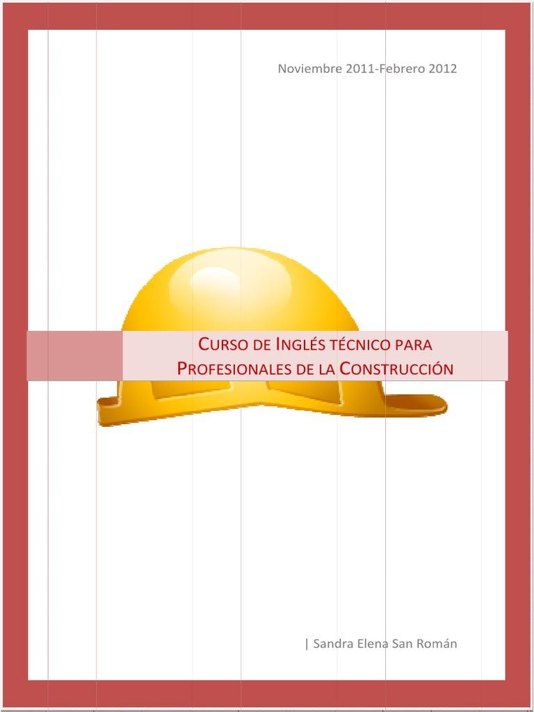 Curso de Inglés Técnico para profesionales de la construcción.pdf