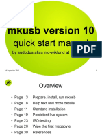 MkUSB Quick Start Manual 1