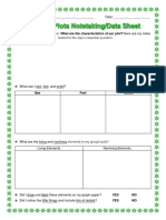 3rd - outdoor plots student data sheet