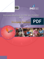 MIMDES INEI Encuesta Nacional Uso Tiempo