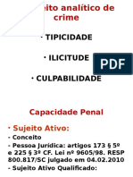 1ª AULA - Capac Penal, Objetos Do Crime